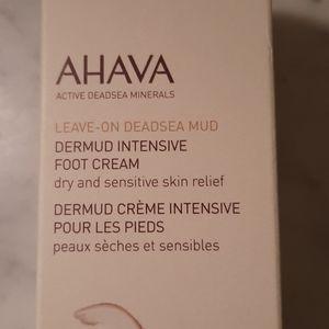 NWT.  AHAVA Dermot Nourishing Foot Cream